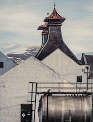 Distillery in the Cairngorms