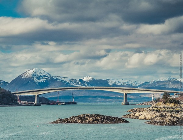 Kyle bridge Cuillins
