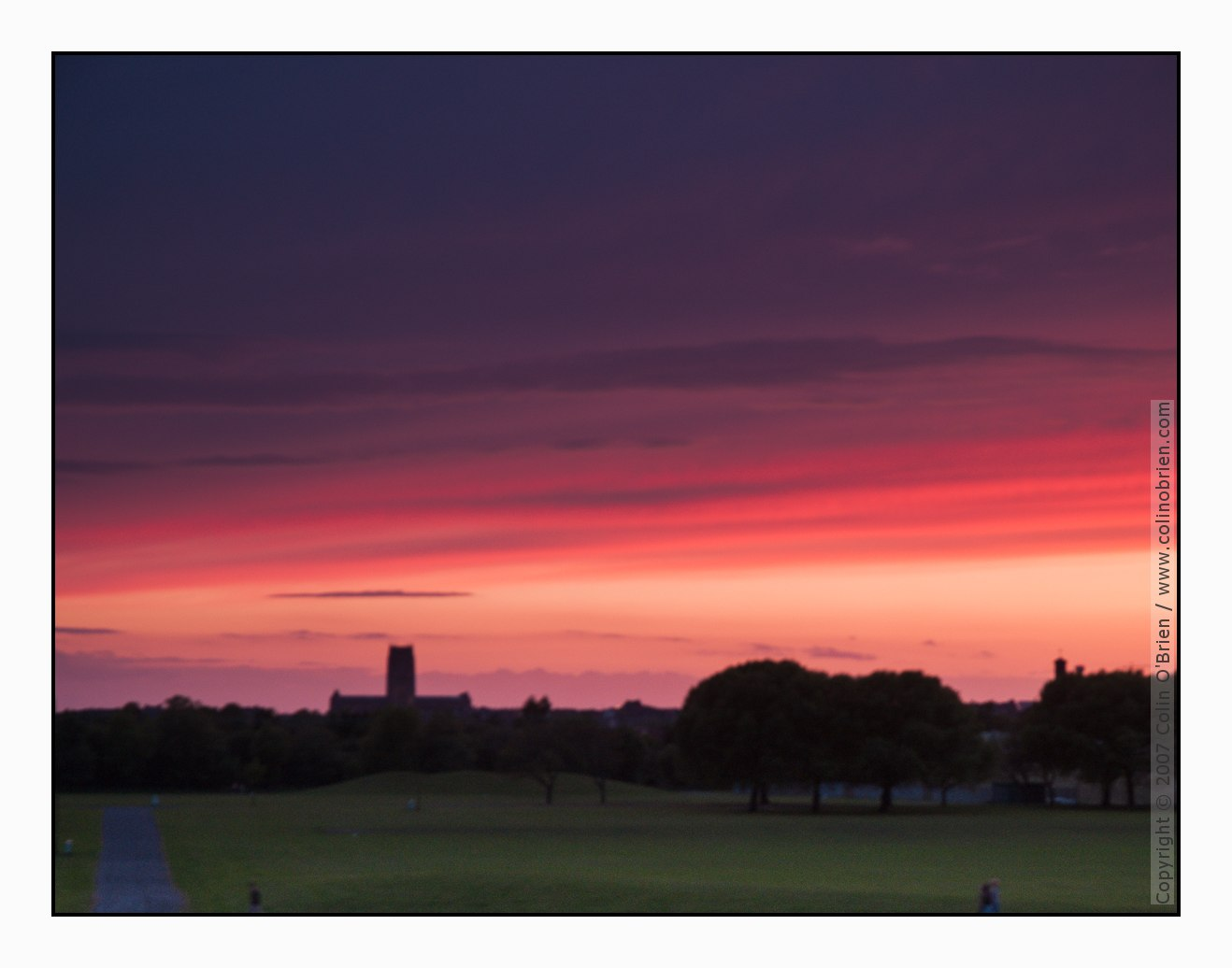 Photo of After sunset, Liverpool Cathedral